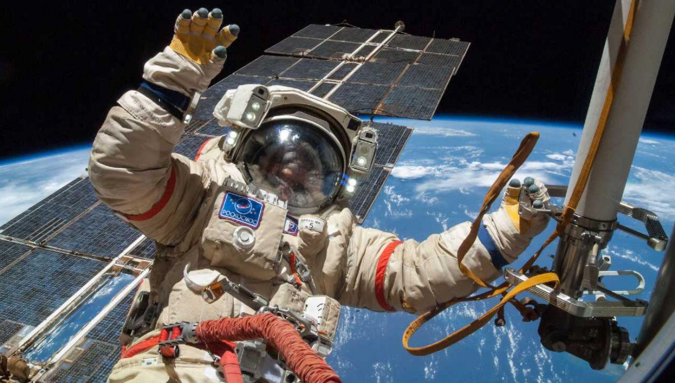 Badania wykonano na kosmonautach służących na ISS (fot. NASA)