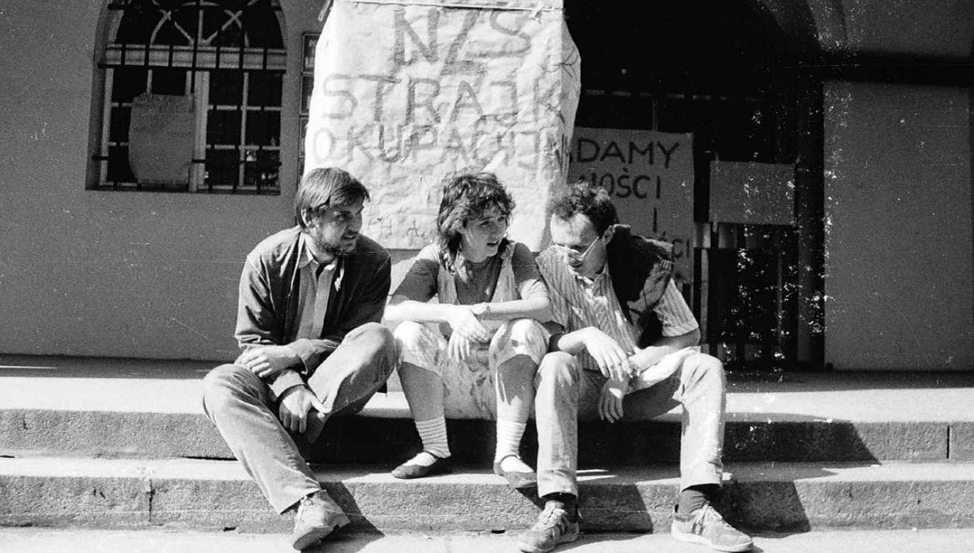 Po wprowadzeniu stanu wojennego NZS zostało zdelegalizowane, a wielu jego działaczy aresztowanych (fot. IPN)