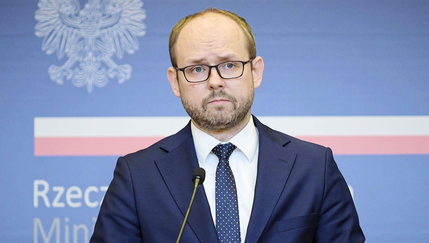 Marcin Przydacz rozmawiał o Nord Stream 2 z przedstawicielem Departamentu Stanu (fot. PAP/Marcin Obara)