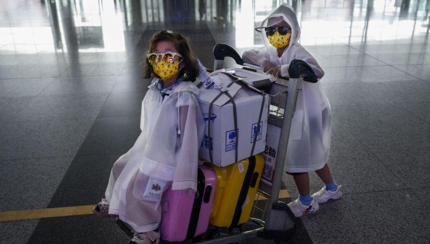 W ciągu ostatniej doby odnotowano w Chinach 45 nowych przypadków zakażenia koronawirusem, z czego 44 dotyczą osób, które przyjechały do Chin z zagranicy (fot. Kevin Frayer/Getty Images)
