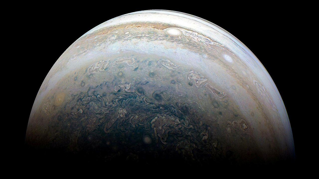 Start sondy, do której zostanie podłączone urządzenie, zaplanowano na 2022 r. (fot. NASA/JPL-Caltech/SwRI/MSSS/Kevin M. Gill/Handout via REUTERS)
