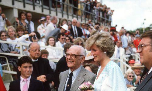 Z księżną Dianą w 1985 roku. Fot. Tim Graham Photo Library via Getty Images