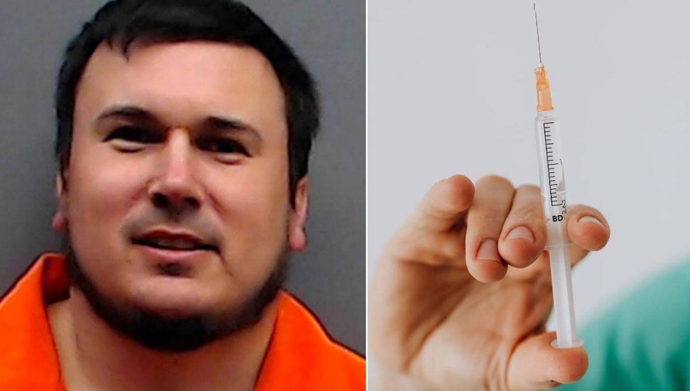 William George Davis został uznany winnym czterech morderstw (fot. Smith County Jail/Pexels)