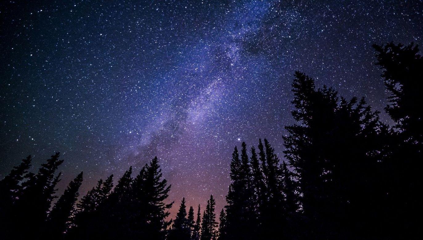 Kometa i ciała niebieskie są wyraźniejsze nocą (fot. Free-Photos/pixabay)
