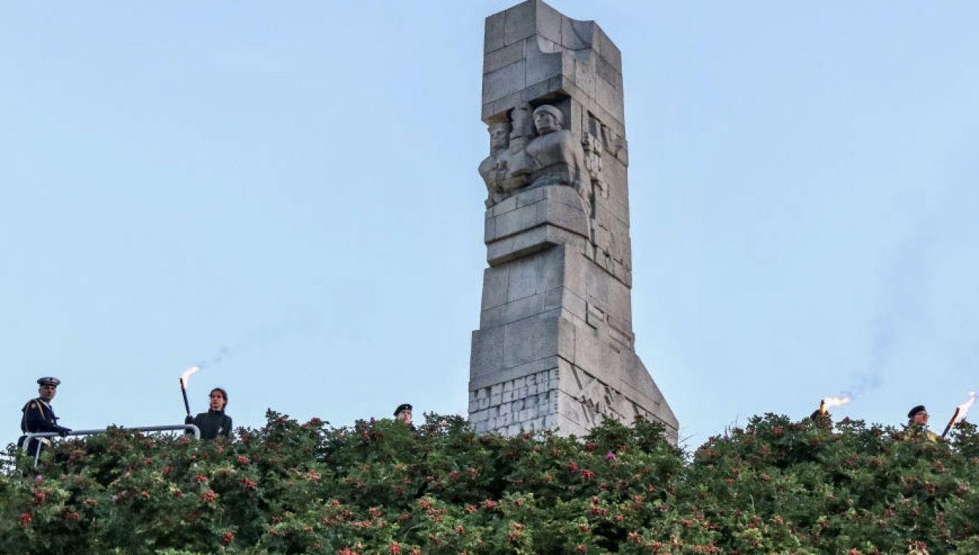 Na przejętej działce stoi pomnik obrońców Westerplatte (fot. Michal Fludra/NurPhoto via Getty Images)