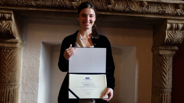 Maria Włoszczowska z nagrodą Prezesa TVP