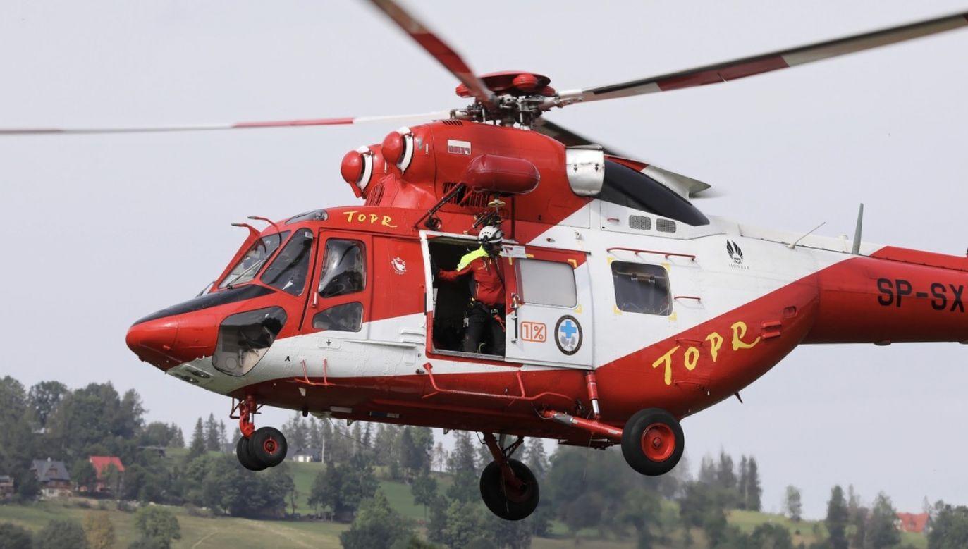 Tylko w tym miesiącu po polskiej stronie Tatr doszło do trzech śmiertelnych wypadków – na Rysach i Orlej Perci (fot. PAP/Grzegorz Momot)