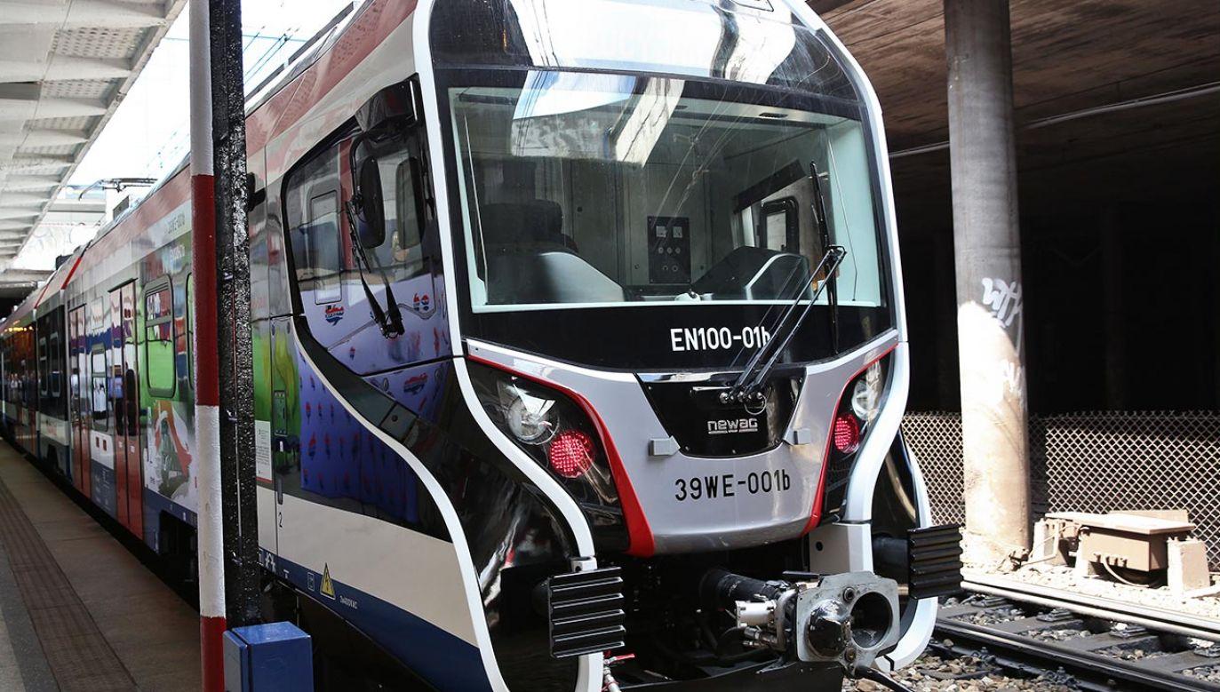 Ruch pociągów WKD wstrzymano  (fot. PAP/Rafał Guz)