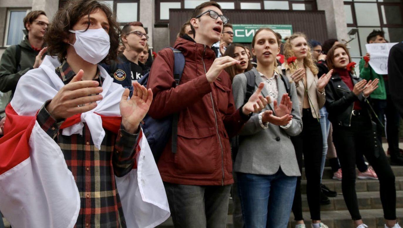Na polskich uczelniach studiuje w tej chwili ponad 8 tysięcy osób pochodzących z Białorusi (fot. Natalia Fedosenko\TASS via Getty Images)