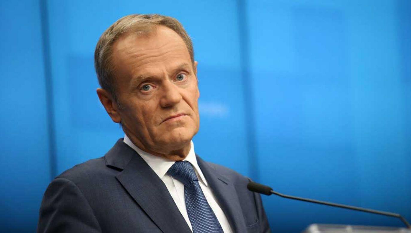 Donald Tusk wróci do polskiej polityki? (fot. Dominika Zarzycka/NurPhoto via Getty Images)