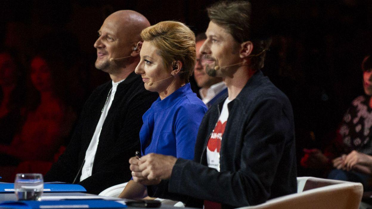 O zwycięstwie zadecydowało jury w składzie: Wiesław Dudek, Aleksandra Dziurosz, Jacek Przybyłowicz (fot. N. Młudzik/TVP)