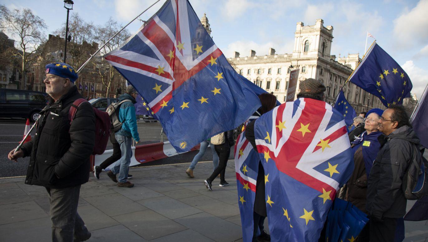 Brytyjska Izba Lordów zaaprobowała bez głosowania projekt ustawy o porozumieniu w sprawie wystąpienia z Unii Europejskiej, ale wprowadziła do niego poprawki(fot. Mike Kemp/In Pictures via Getty Images)