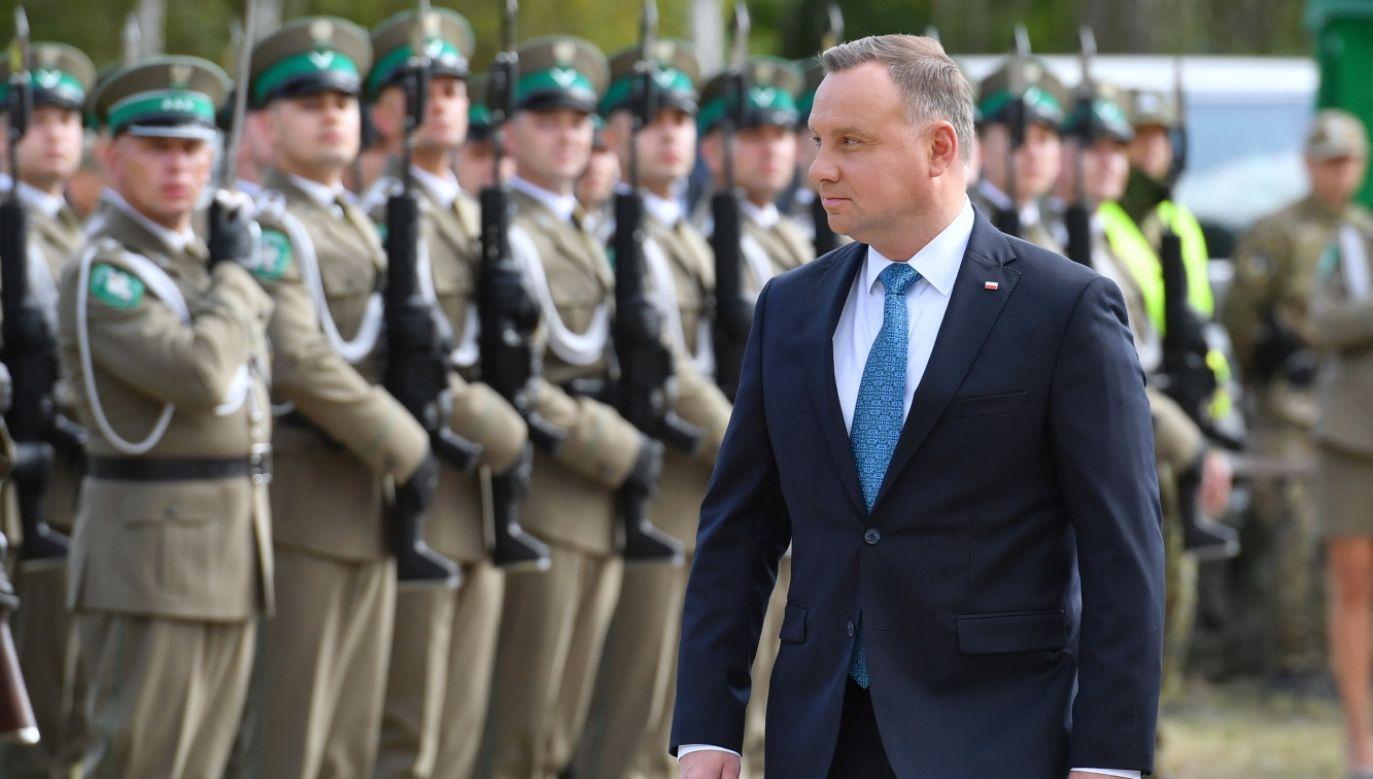 Prezydent RP Andrzej Duda włącza się w spór o