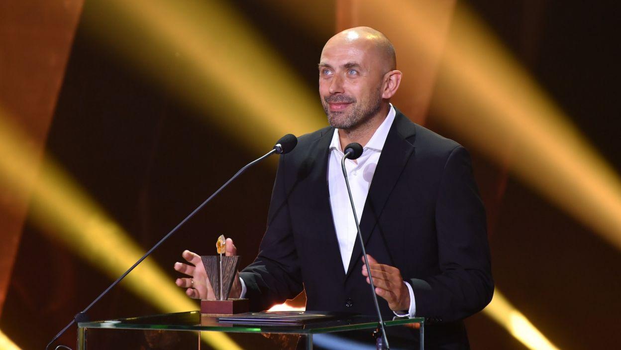 """Film """"Sonata"""" doceniła też publiczność. Z nagrody cieszył się reżyser Bartosz Blaschke (fot. PAP/Adam Warżawa)"""