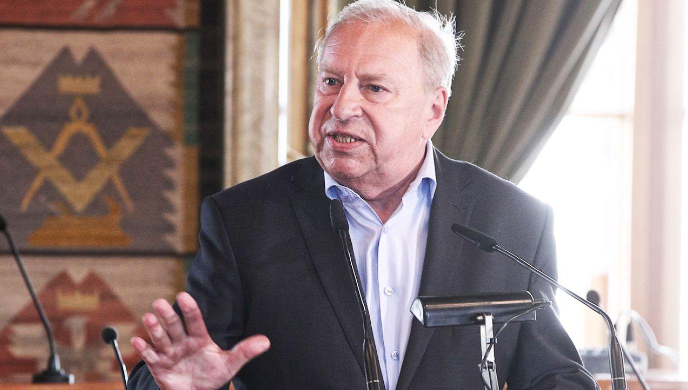 Jerzy Stuhr ocenił elektorat Prawa i Sprawiedliwości (fot. arch.PAP/Łukasz Gągulski)