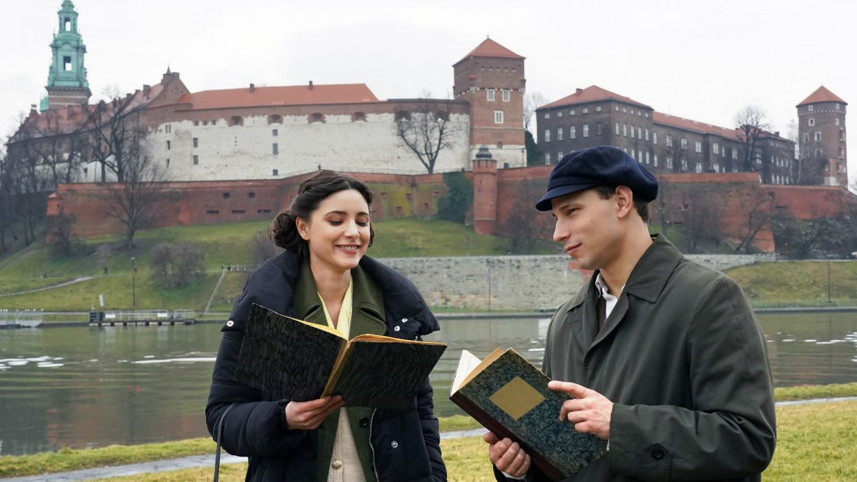 Historia rozpoczyna się w Krakowie, do którego 18-letni Karol przybywa z Wadowic (fot. A. Ciołek/TVP)