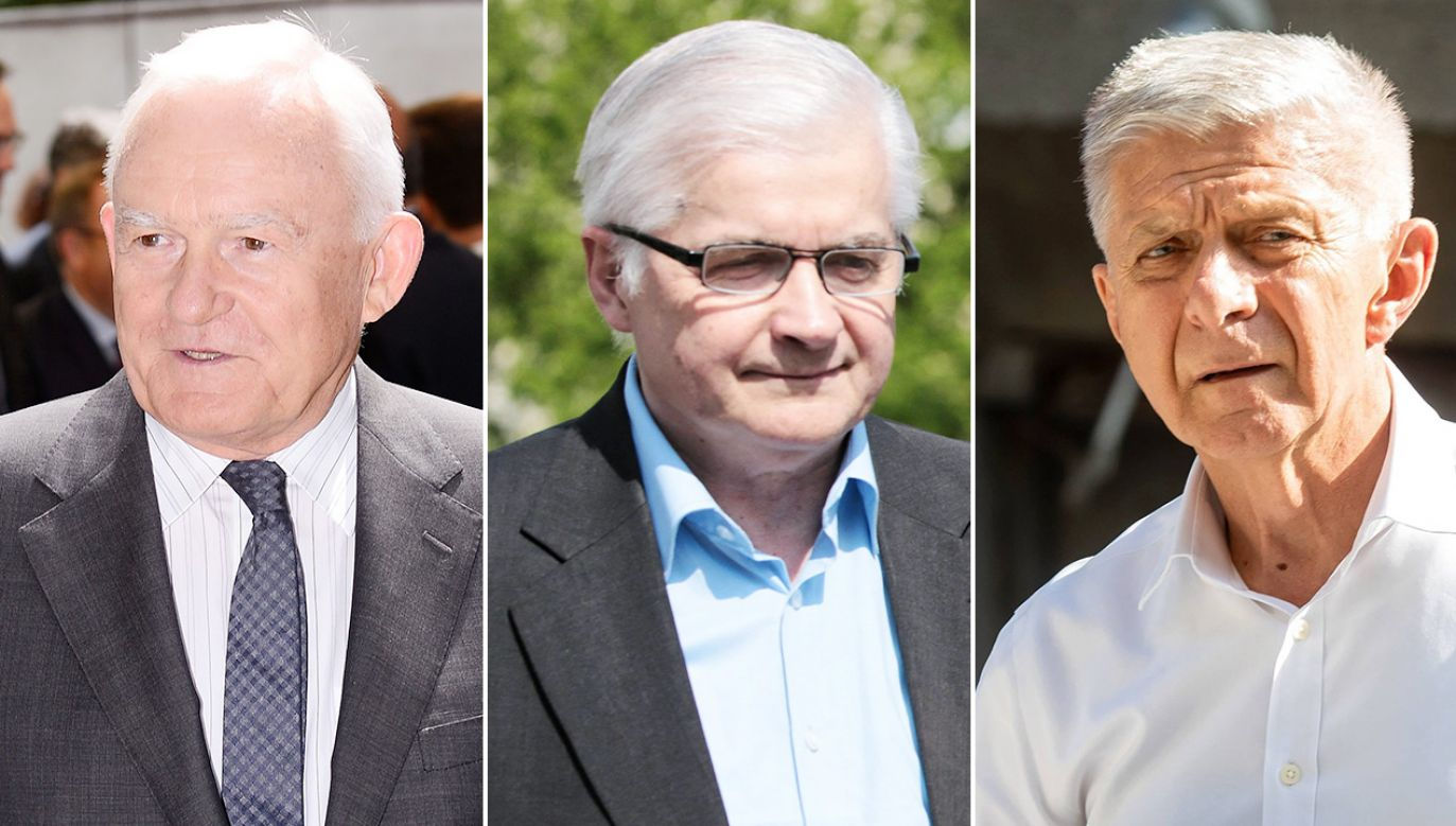 Leszek Miller, Włodzimierz Cimoszewicz, Marek Belka (fot. PAP/Marcin Kmieciński, Leszek Szymański, Grzegorz Michałowski)
