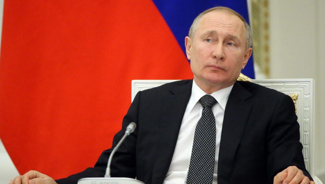 Putin stanął w obliczu poważnego testu skuteczności jego polityki (fot. Mikhail Svetlov/Getty Images)