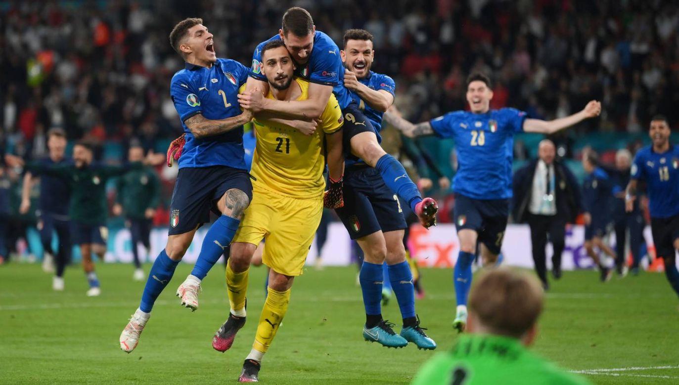 Gianluigi Donnarumma został wybrany najlepszym zawodnikiem mistrzostw Europy (fot. Getty Images)
