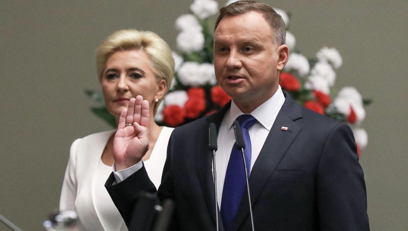 Po zaprzysiężeniu Andrzej Duda wygłosi orędzie przed Zgromadzeniem Narodowym (fot. KPRP)