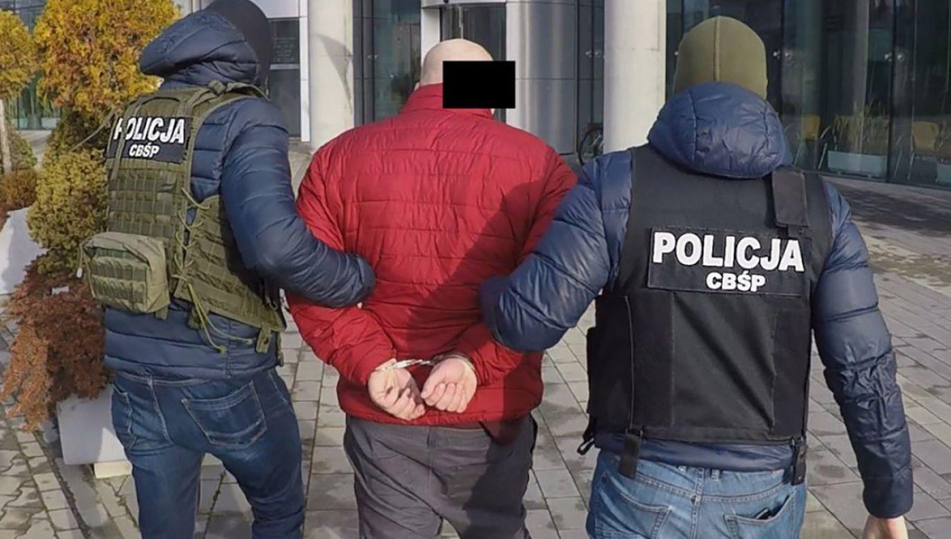 W 2019 roku ponad 1,3 tys. podejrzanych osób został tymczasowo aresztowanych (fot. CBŚP, zdjęcie ilustracyjne)