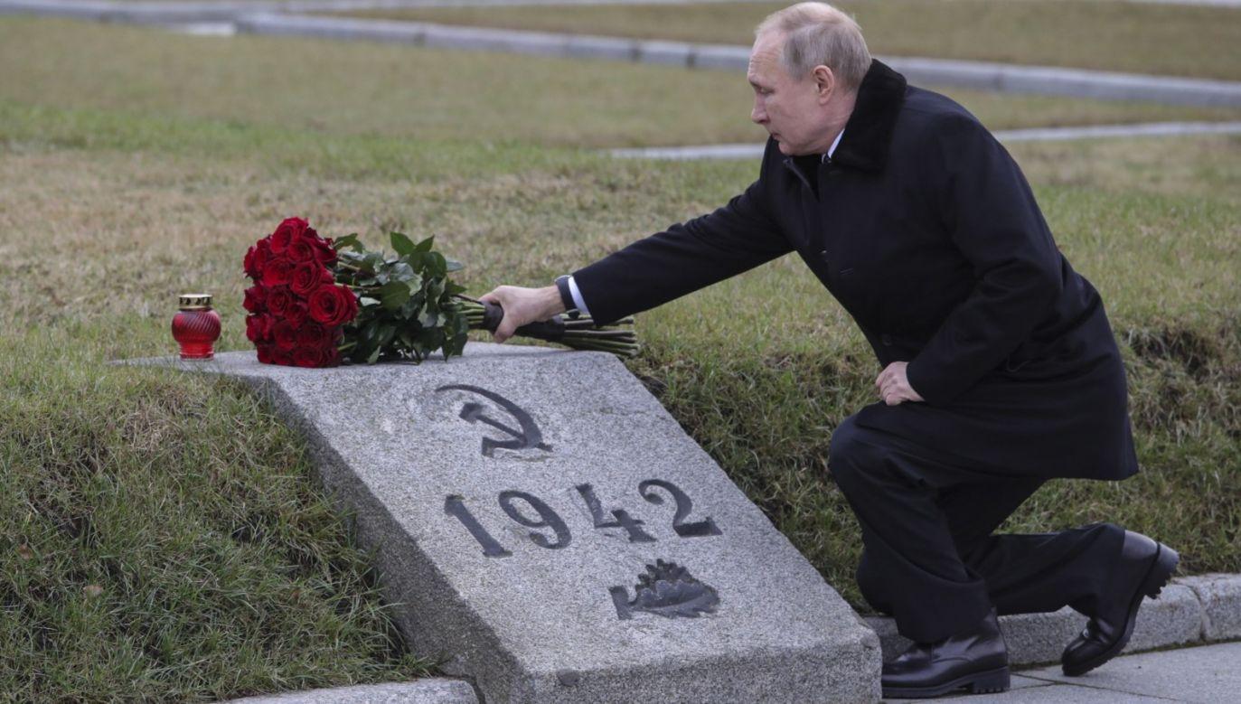 Rosyjski prezydent spotkał się z weteranami II wojny światowej (fot. PAP/EPA/ALEXEI DANICHEV / SPUTNIK / KREMLIN POOL)