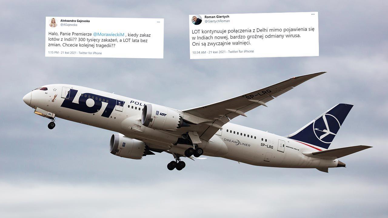 Koronawirus w Indiach, a LOT wozi pasażerów bez zmian? To fake news (fot. Shutterstock/Soos Jozsef)