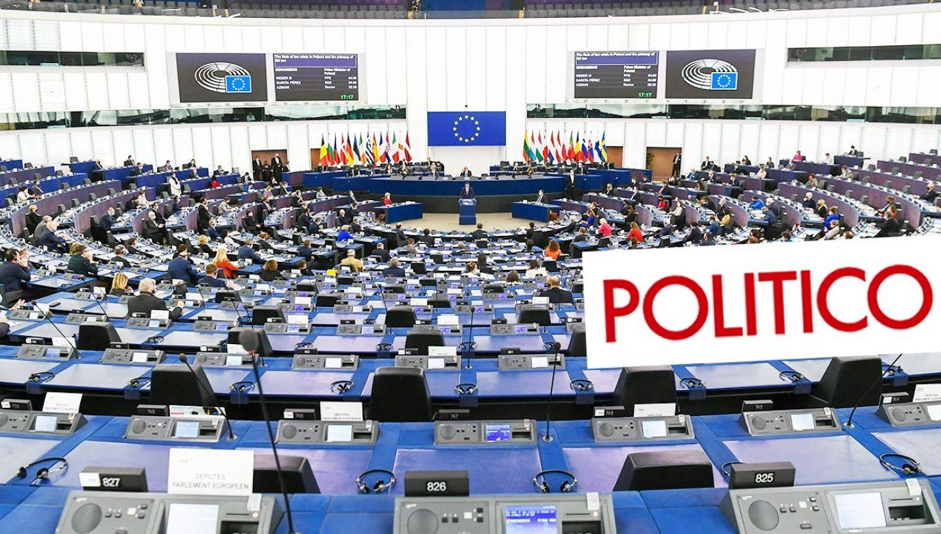 """""""UE nie może pozwolić sobie na wojnę z Polską""""; """"Walka nie do wygrania"""" (fot. EU Commission / Pool/Anadolu Agency via Getty Images)"""