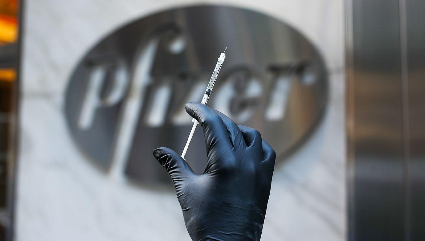 Szef Pfizera uważa, że szczepionka pozwoli światu wrócić do normalności (fot.Tayfun Coskun/Anadolu Agency via Getty Images)
