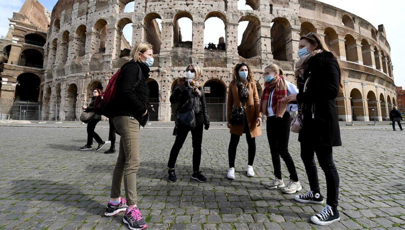 Burmistrz Rzymu zaapelowała do rządu o pomoc (fot. PAP/EPA/ETTORE FERRARI)