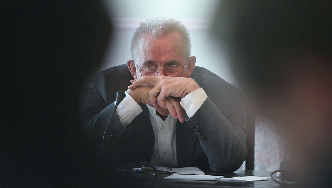 Andrzej Czuma (fot.arch.PAP/Paweł Kula)