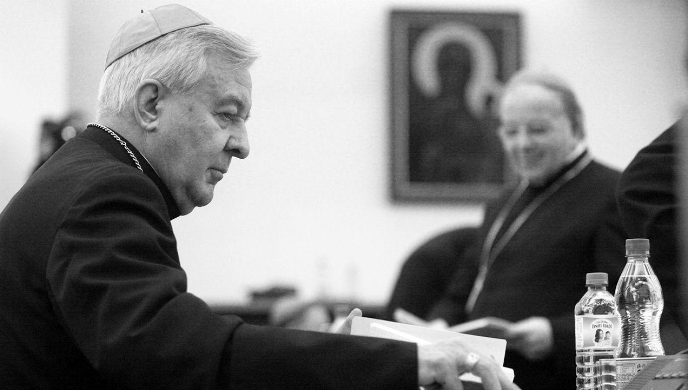 Miał 84 lata (fot. arch.PAP/Tomasz Gzell)