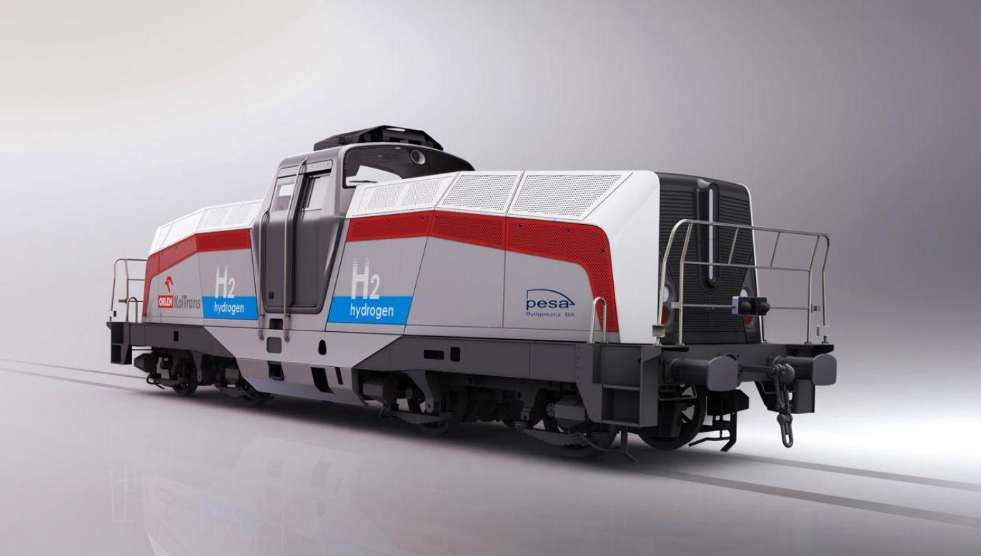 Lokomotywa SM42 6Dn jest manewrową lokomotywą 4–osiową (fot. Pesa Bydgoszcz)