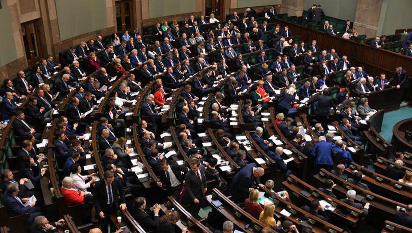 Spotkanie opłatkowe zaplanowano 19 grudnia (fot. Kancelaria Sejmu/Łukasz Blasikiewicz)