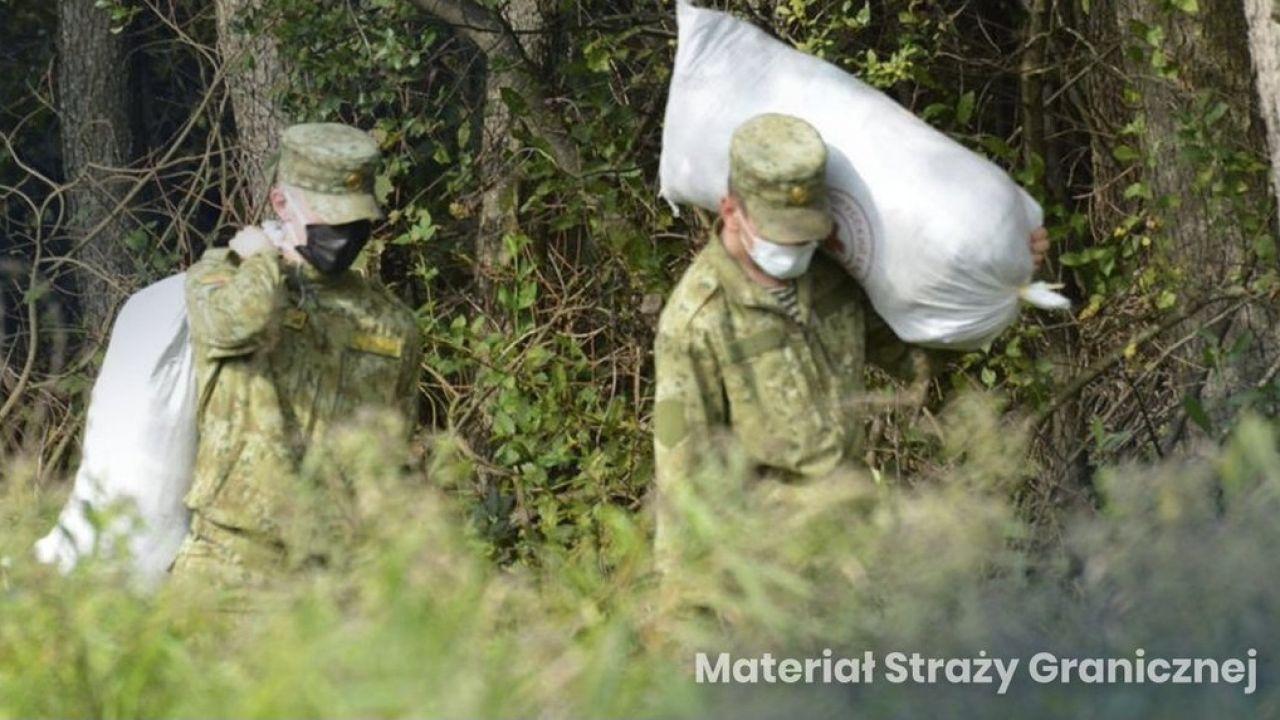 Porażka opozycji w sprawie kryzysu na granicy polsko-białoruskiej jest już odczuwalna (fot. Straż graniczna)