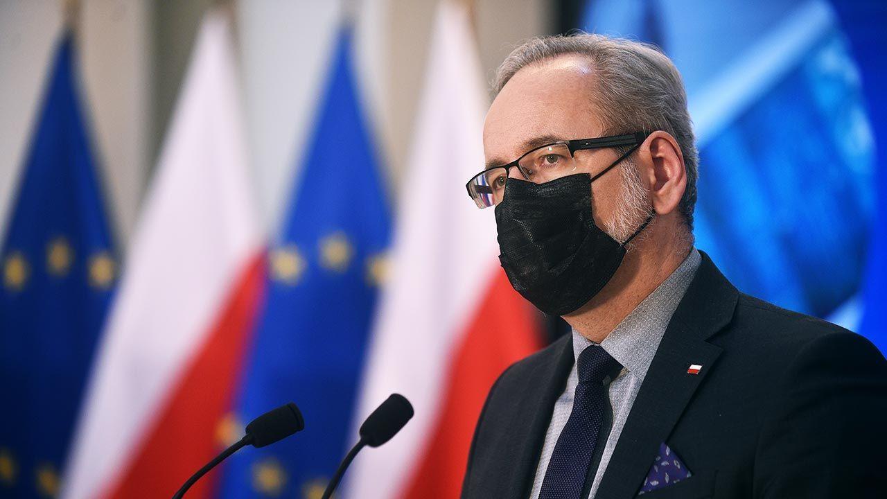 """""""Przez szpitale przetacza się trzecia fala"""" (fot. (fot. Forum/Adam Chelstowski)"""