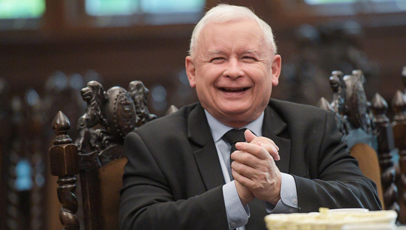 Fotograf uważa, że media kreują negatywny wizerunek prezesa PiS (fot. Andrzej Hrechorowicz)
