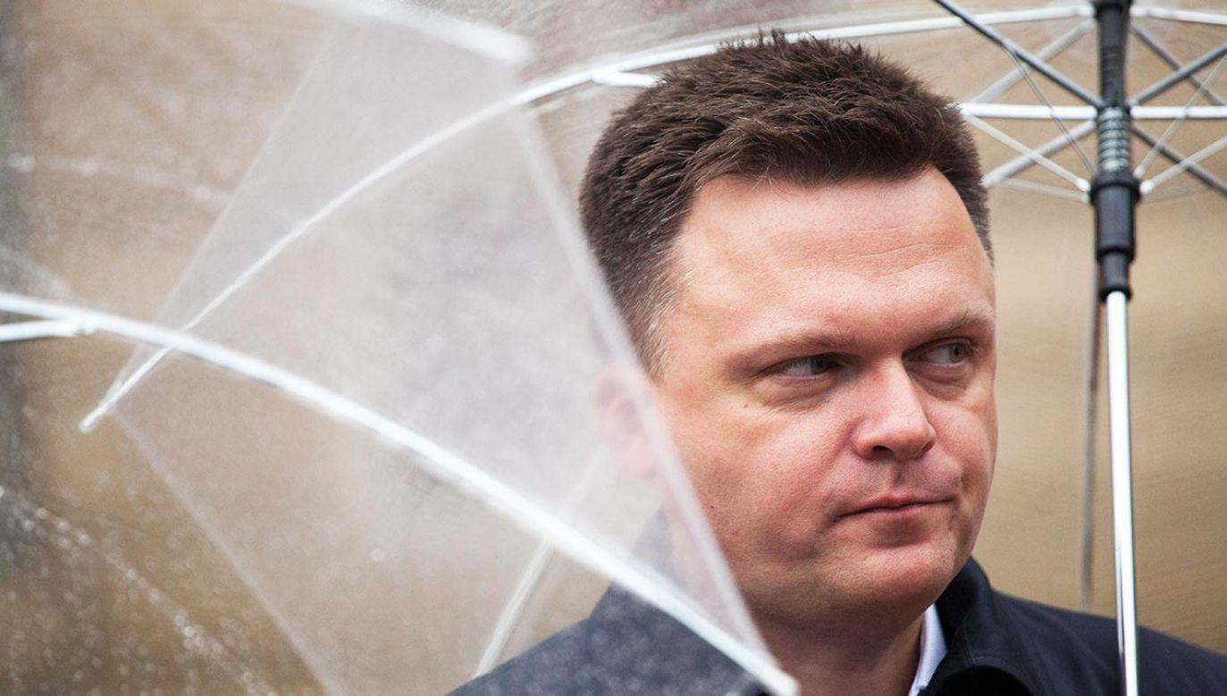 Politycy PSL nie wykluczają współpracy programowej z liderem Polski 2050 Szymonem Hołownią (fot. Maciej Luczniewski/NurPhoto via Getty Images)