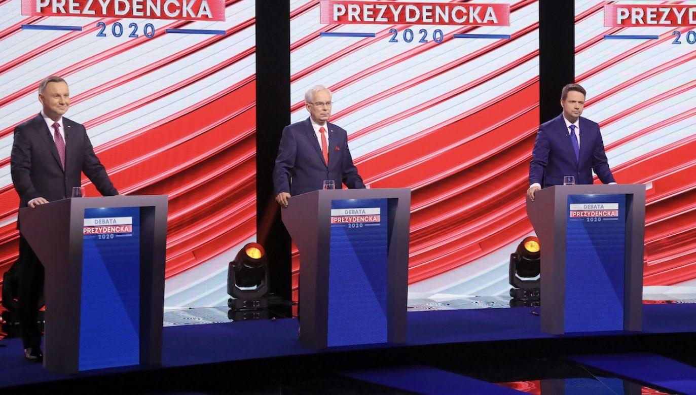 Dotąd tylko sztab Andrzeja Dudy potwierdził udział w debacie w Końskich (fot. arch.PAP/Paweł Supernak)