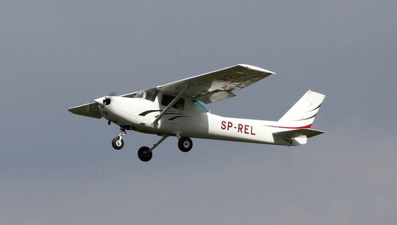 Wszyscy reprezentanci Polski latali na Cessnie 152 (fot. FB/aeroklubkrakowski192/Marcin Sigmund)