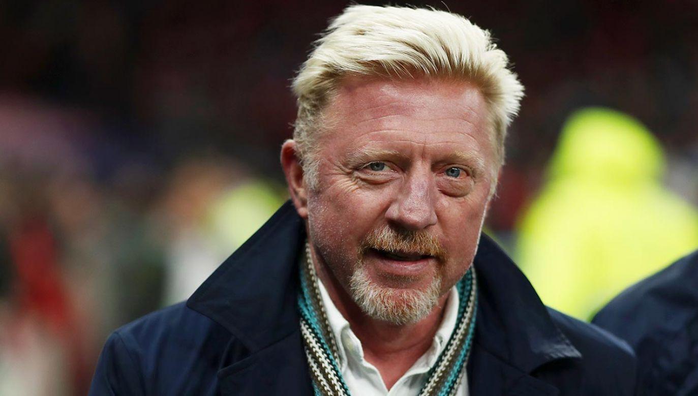 Boris Becker byłczołowym tenisistą świata lat 90. XX wieku (fot.Shutterstock/ MDI)