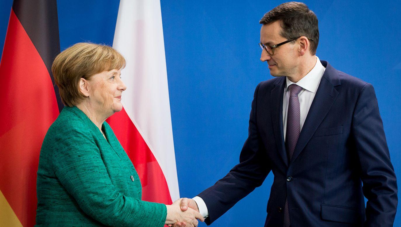 Kanclerz Niemiec zapewniła też o chęci kontynuowania współpracy (fot. Mateusz Wlodarczyk/NurPhoto/Getty Images)