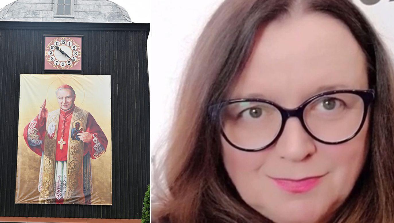 Bogna Czełczyńska jest pełnomocnikiem ds. kobiet i równego traktowania w województwie zachodniopomorskim (fot. PAP/Marcin Bielecki; TVP)
