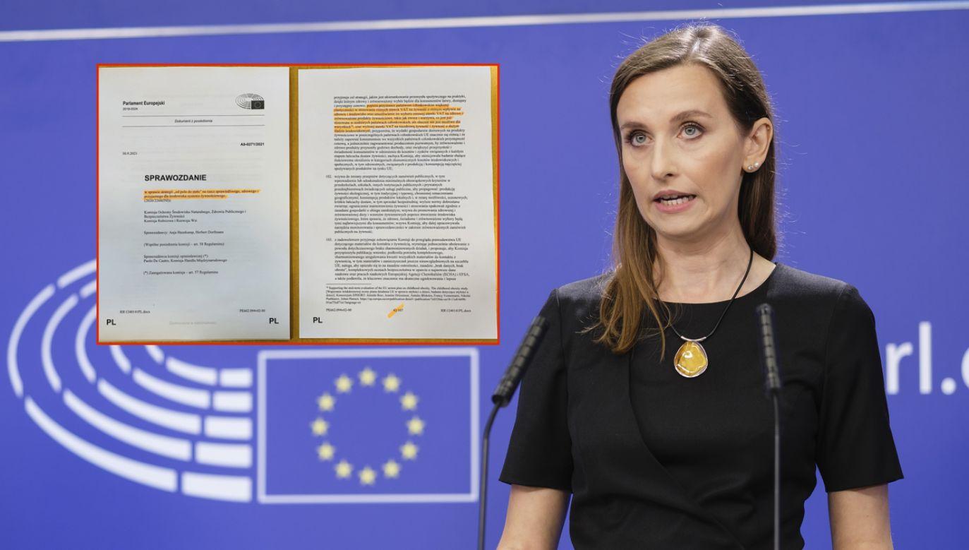 Sylwia Spurek – Zieloni. Wolny Sojusz Europejski (fot. Thierry Monasse/Getty Images, twitter.com/SylwiaSpurek)