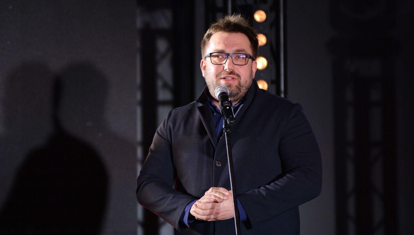 Dziennikarz Bartosz Węglarczyk (fot. arch. PAP/Marcin Kmieciński)