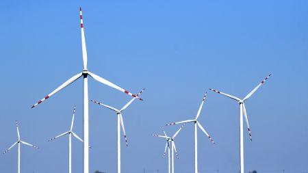 Będzie budowanych więcej elektrowni wiatrowych (fot. PAP/Darek Delmanowicz)