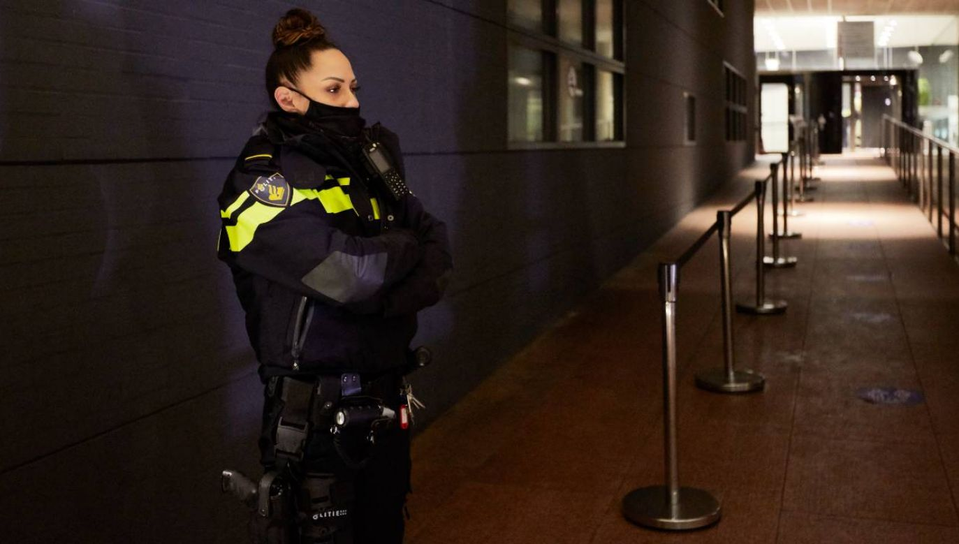 Holenderska policja jest krytykowana (fot. Pierre Crom/Getty Images)