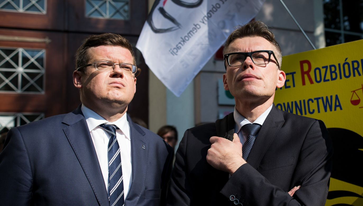 Krystian Markiewicz i Igor Tuleya (fot. Mateusz Wlodarczyk/NurPhoto via Getty Images)