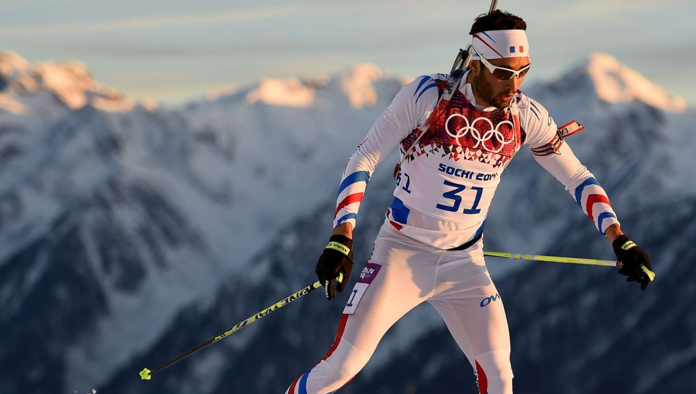Martin Fourcade (fot. Getty)