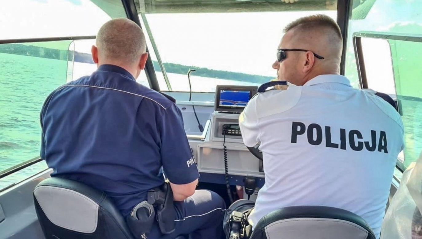 Poszukiwania zakończyły się odnalezieniem zwłok (fot. policja.pl, zdjęcie ilustracyjne)